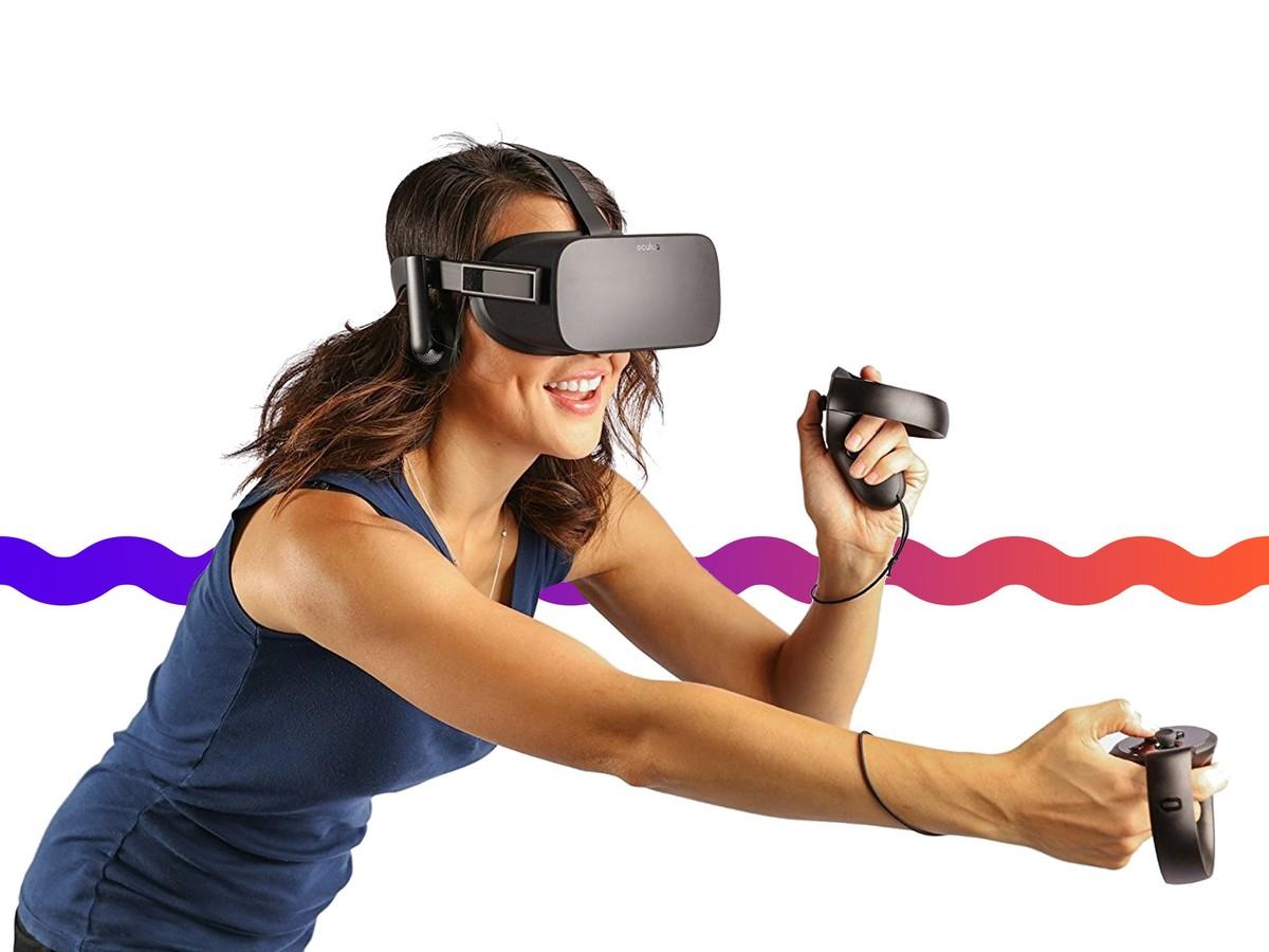Oculus Rift's VR Headset