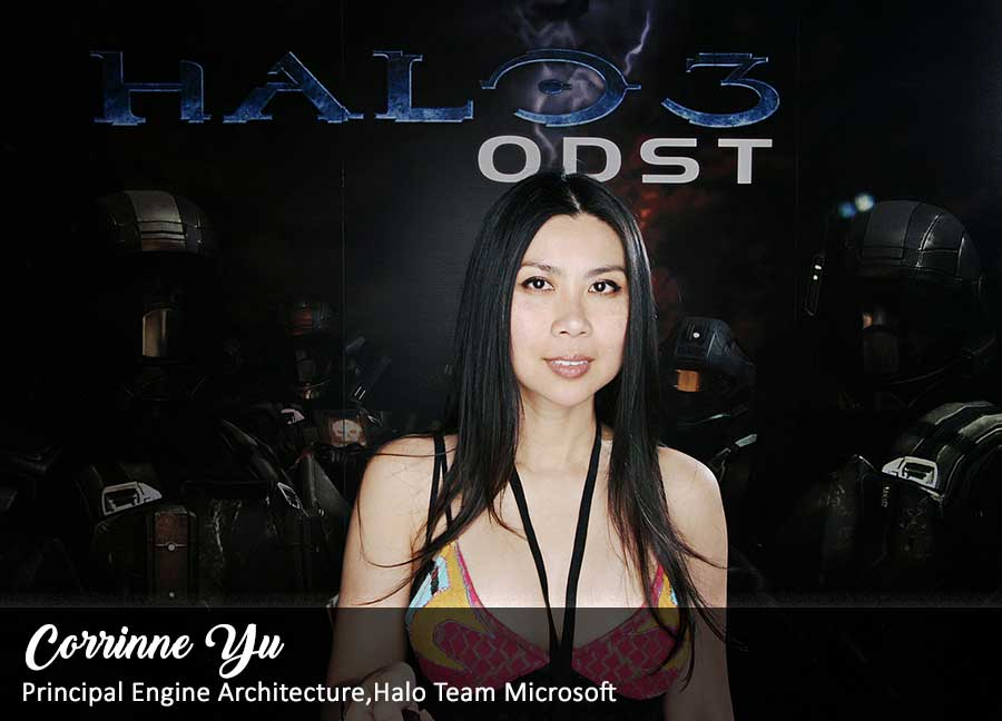 Corrinne Yu - Principal Engine Architect for Halo Team Microsoft