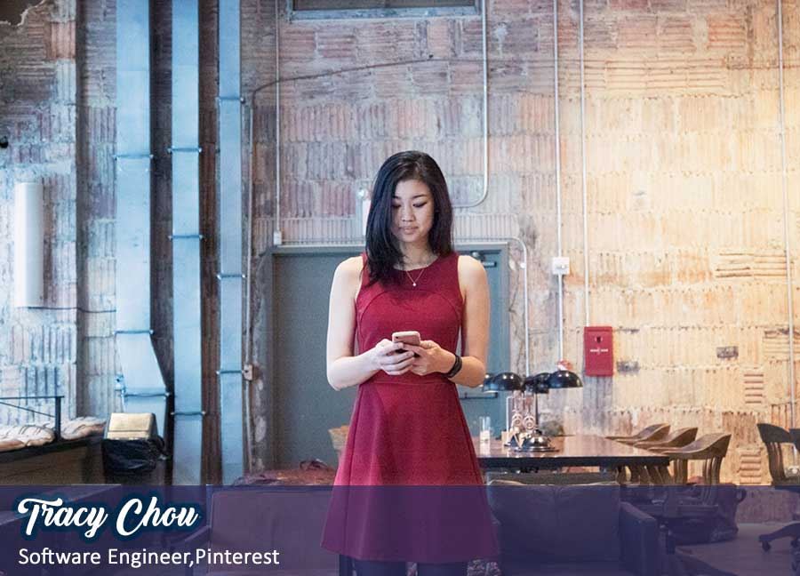 Tracy Chou Software engineer at Pinterest